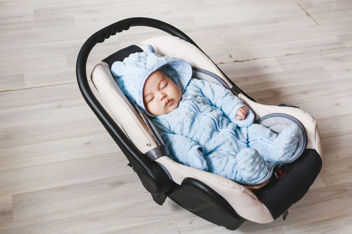 The history of the car seat